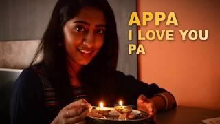 Appa i Love You Pa | Chowka song | Sahana J N | Cover |