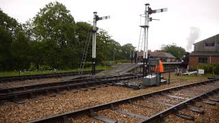 Isle of Wight Steam Railway Freight Train Demonstration May 2014