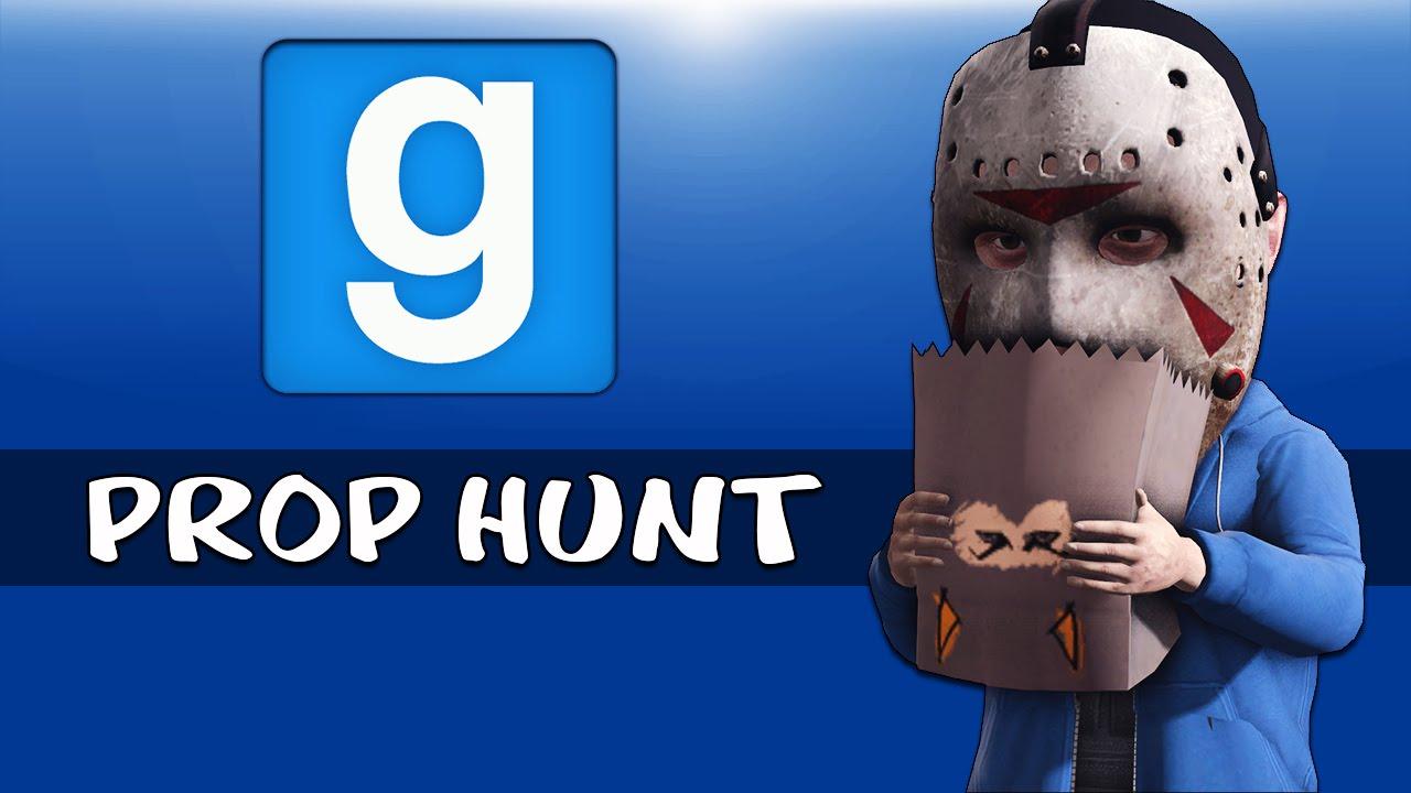 Gmod Ep  40 PROP HUNT - HALLOWEEN Edition! (Garry's Mod Funny Moments) SFM  Intro!