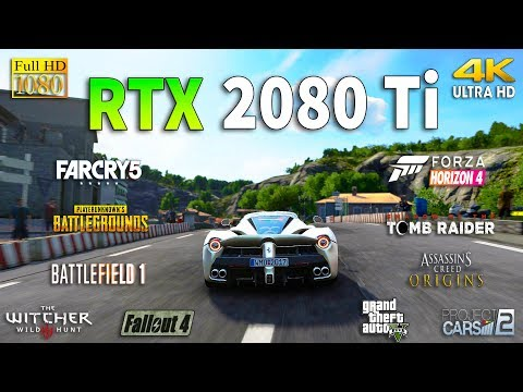 GeForce RTX 2080 Ti Test in 10 Games 1080p and 4K
