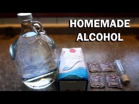 How To Make Alcohol At Home (Ethanol)