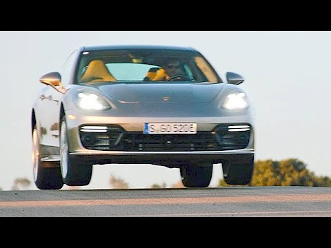 Porsche Panamera Turbo S E-Hybrid (2017) The Strongest [YOUCAR]
