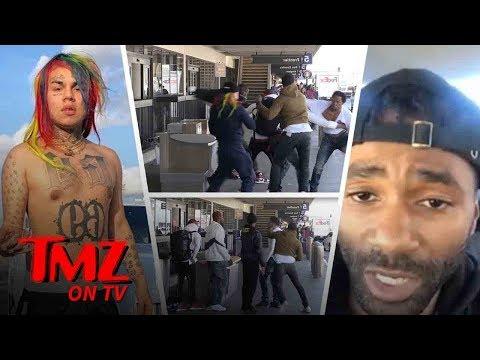 The Reason Behind Rapper Tekashi69's Beatdown! | TMZ TV