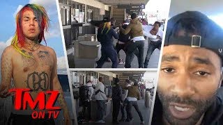 The Reason Behind Rapper Tekashi69's Beatdown!   TMZ TV