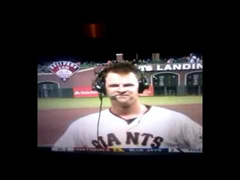 Matt Cain Perfect Game Interview