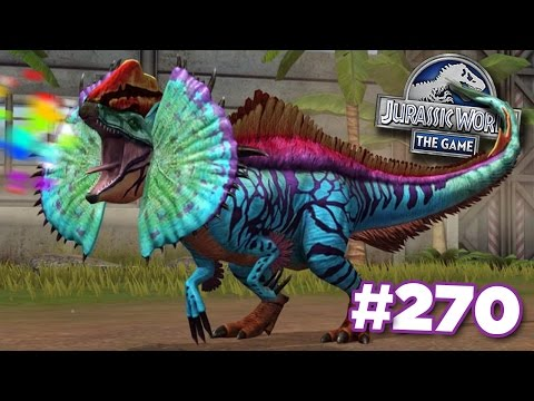 NEW HYBRID ERLIPHOSAURUS! || Jurassic World - The Game - Ep270 HD