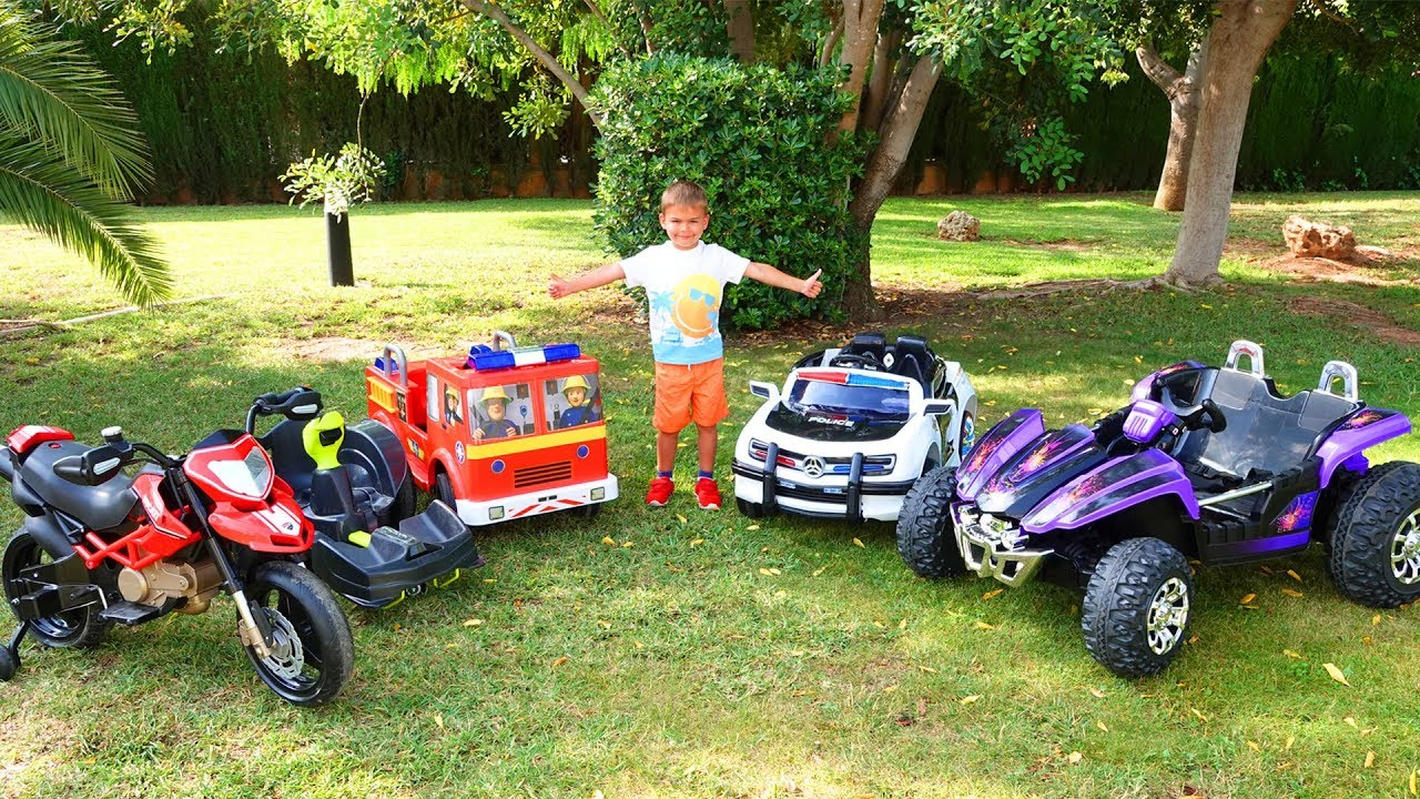 Dima and new power wheels collection