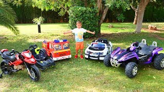 Funny Baby Dima and new POWER WHEELS collection