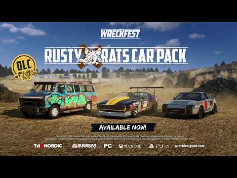 Wreckfest - Rusty Rats Car Pack Trailer