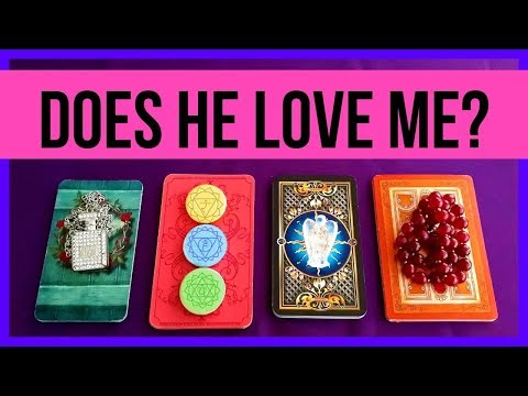 DOES HE LOVE ME?? ❤️ *Pick A Card* Love Relationship Tarot Reading Timeless