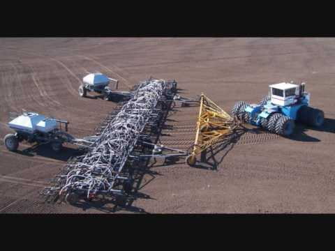 Biggest Airseeder Ive Ever Seen Youtube