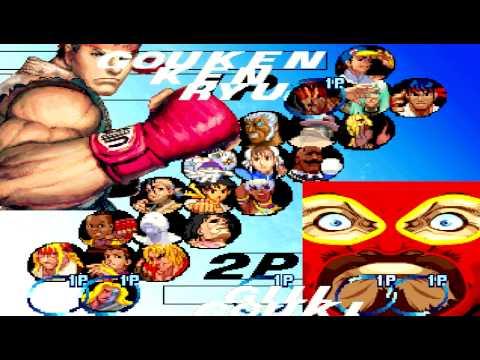super street Fighter 3rd strike on crack M.U.E.G.N 1.0 HACK 3v3 match