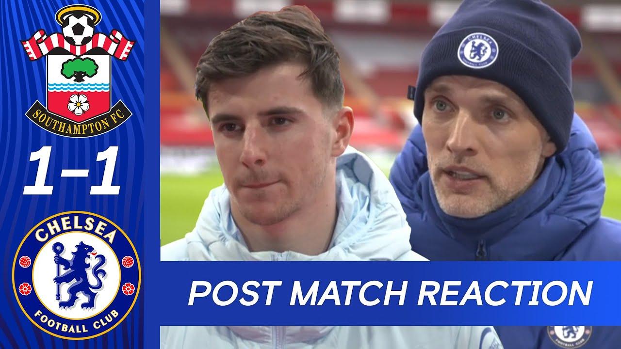 Download Mason Mount & Thomas Tuchel React To Draw At Southampton   Southampton 1-1 Chelsea   Premier League