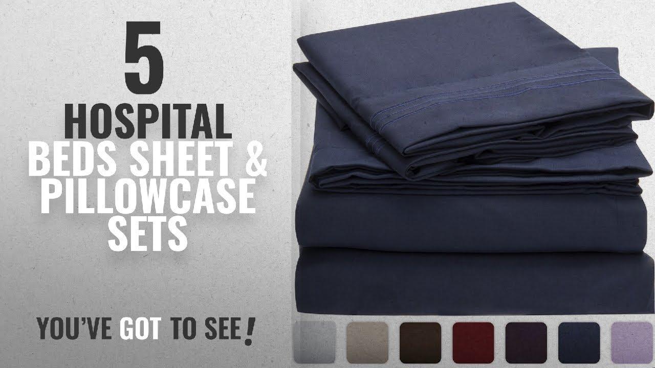 Top 10 Hospital Beds Sheet Pillowcase Sets 2018 Mellanni Bed