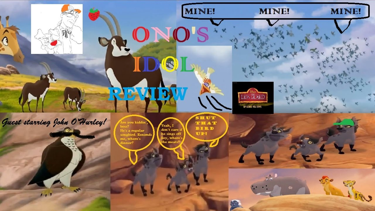 the lion guard the trouble with galagos dailymotion