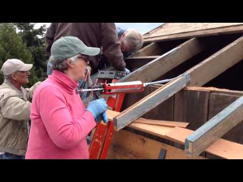 Holbrook Barn Rafter Treatments Youtube