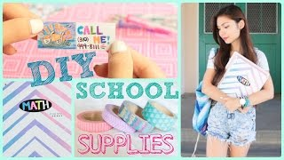 Diy School Supplies! Back To School 2014 ♥