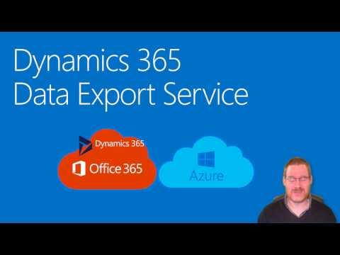 Dynamics 365 Data Export Service