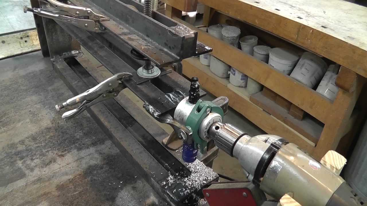 Circle Cutter For Metal Spinning Discs Youtube