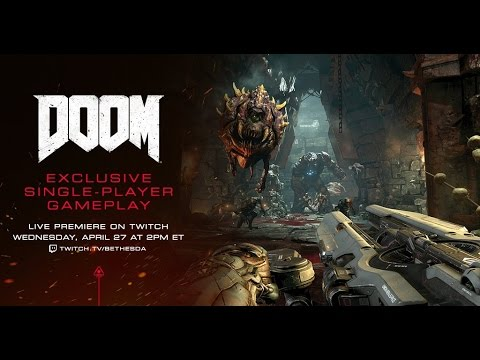 DOOM Single-player Preview