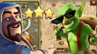 100 Büyücü ile Goblin Köylerine Saldırdım | Clash Of Clans