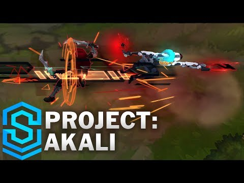 PROJECT: Akali Skin Spotlight - League of Legends