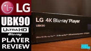 LG UBK90 4K Bluray Player Review   Unboxing and Setup