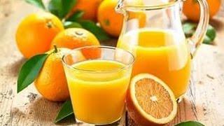 видео Апельсиновый сок из 4 апельсинов