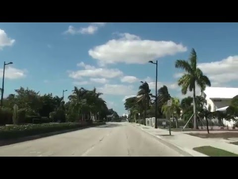 Bay Harbor Islands, Florida - A drive around Bay Harbor Islands HD (2012)