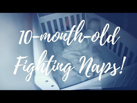 10 Month Old Baby Fighting Naps! | Day In The Life Of A Mom