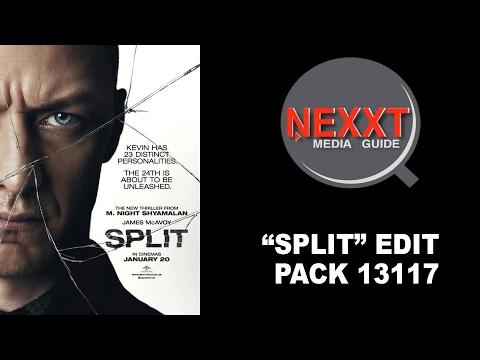 "NEXXT MEDIA GUIDE ""SPLIT"" FEATURE FILM PROMOS 2117_1"