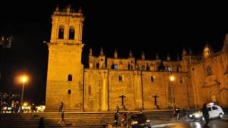 2016 クスコの夜景 Night View of Cusco Song title:Piano Man  Billy Joel