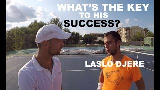 Training & Interview With World Top Tennis Player Laslo Djere  | TENFITMEN Weekly Vlog #33