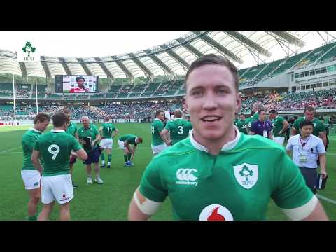 Irish Rugby TV: Rory O'Loughlin On His Ireland Debut