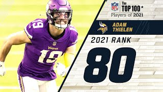 #80 Adam Thielen  (WR, Vikings) | Top 100 Players of 2021
