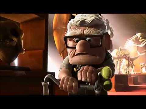 UP (2009) Scene: Elderly Fight/The new 'Alpha'.