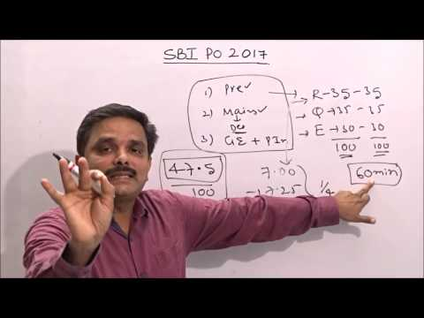 HOW TO PREPARE FOR SBI PO 2017