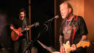 In-studio performance video of Gregg Allman with his touring band p...