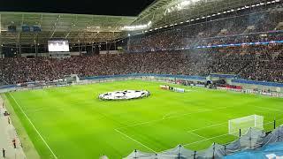 UEFA Champions League 1. Runde RB Leipzig vs AS Monaco