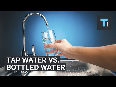Tap Water Might Be Better Than Bottled Water