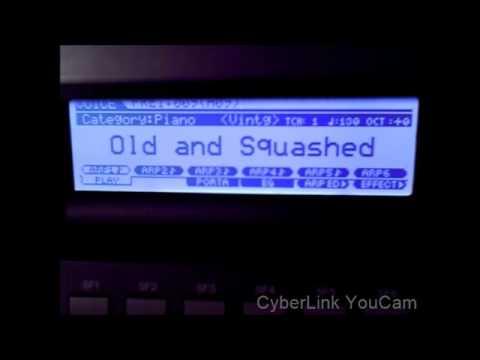 Yamaha Moxf6 all Piano sounds