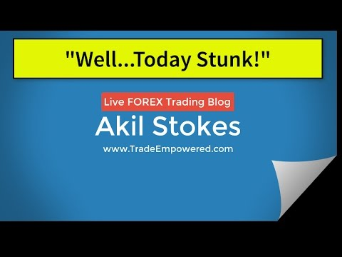 Forex Trading Blog: Well Today Just Stunk!!