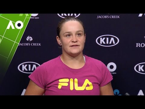 Ashleigh Barty press conference (2R) | Australian Open 2017