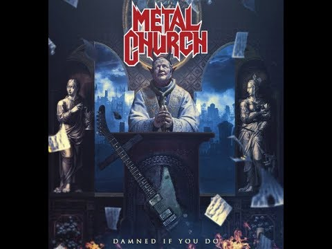 """Metal Church new album """"Damned If You Do"""" - art/tracklist/teaser released..!"""