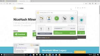 Nice Hash Tutorial| Earn Free Bitcoin using your PC Hindi |  | हिंदी