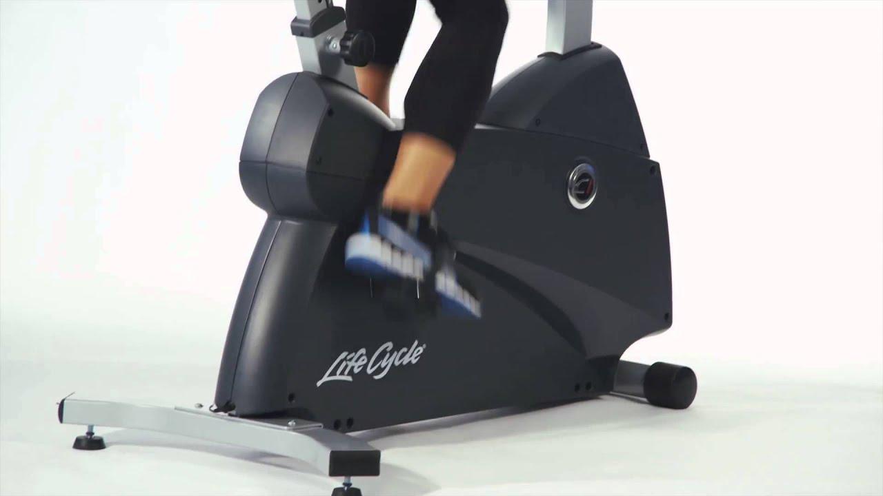 life fitness c1 ergometer youtube. Black Bedroom Furniture Sets. Home Design Ideas