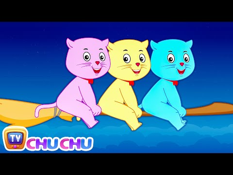 Hey Diddle Diddle - Nursery Rhymes by Cutians™ - The Cute Kittens | ChuChu TV