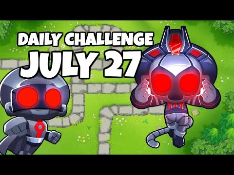BTD6 Daily Challenge R110 - Monkey-Business1987&39;s Challenge - July 27 2019