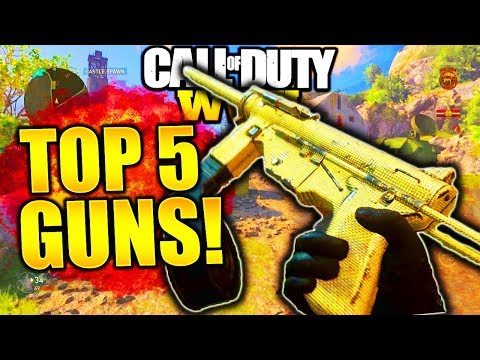 TOP 5 BEST GUNS IN WW2! COD WORLD WAR 2 BEST WEAPONS COD WW2 BEST GUNS! TOP 5 BEST GUNS IN COD WW2!