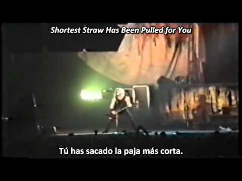 Metallica - The Shortest Straw (Subtitulos Español Lyrics)
